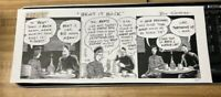 BILL GRIFFITH - ORIGINAL COMIC ART - ZIPPY THE PINHEAD - THE BEATS KEROUAC 1996
