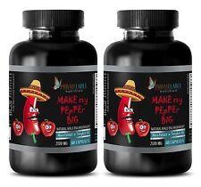 "Maca Root Powder - ""Make My PEpPEr Big"" - Improves Sexual Life - 120 Tablets"