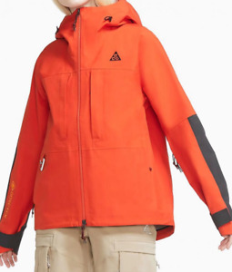 Nike ACG Gore-Tex Misery Ridge Jacket Women's M / L / XL Orange CV0598-891