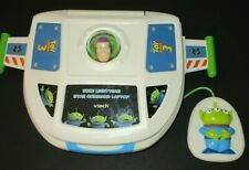 V Tech Buzz Lightyear Star Command Laptop Computer Disney Pixar Toy Story 3