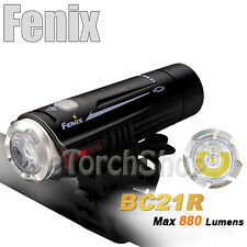 Fenix BC21R Cree Led 880Lm Dual Distance Beam Bike Flashlight With 18650 Battery