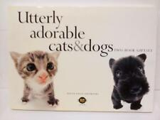 Cats And Dogs Utterly Adorable Cats And Dogs Two Book Gift Set