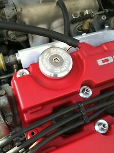 MPC Motorsport Oil Cap Honda Civic Acura Integra D15b B16a K20a K24 [Silver]