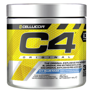 Cellucor C4 Original Explosive Pre Workout & Creatine 30 Servs EU + FREE SAMPLE*