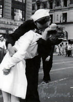 "George Mendonsa (USA) ""The Kissing Sailor"" original signiert/signed !!!"