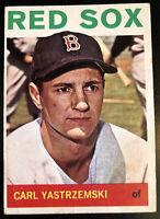 1964 Topps #210 CARL YASTRZEMSKI Boston Red Sox - YAZ - HOF