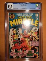Mister Miracle #4 CGC 9.4 White Pages !