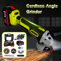"""21V Brushless Cordless Angle Grinder 4 1/2"""" 21 Volt MAX Cut-Off with Battery"""