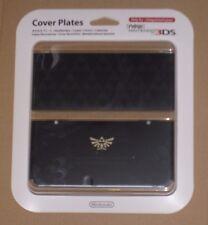 Zelda Triforce 024 Cover Plate Limited NEW Nintendo 3DS - Black - Official
