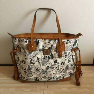 Dooney and Bourke × DIsney Collaboration Tassel Tote Bag White Japan Limited