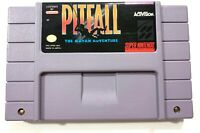 PITFALL MAYAN ADVENTURE SUPER NINTENDO SNES - Tested Working AUTHENTIC