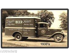 Vintage Hamms  Beer Truck 1930's  Refrigerator / Tool Box Magnet Man Cave
