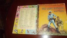 The LONE RANGER AND TONTO vintage LITTLE GOLDEN BOOK 179:30 SYD Edwin Schmidt VG