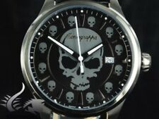 Montegrappa Fortuna Skull Watch  Mens New w/ Original Box protective covers tags