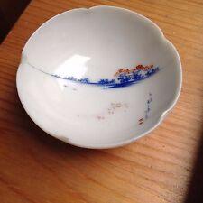 Antique Chinese or  Japanese translucent tiny Bowl Signed