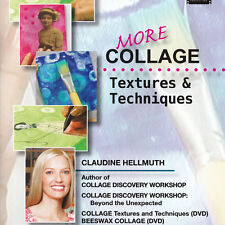 NEW DVD: MORE COLLAGE TEXTURES AND TECHNIQUES WITH CLAUDINE HELLMUTH