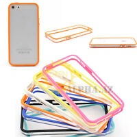 Soft Silicone TPU Gel Bumper Frame Case Cover Protector for Apple iPhone 5S 5G