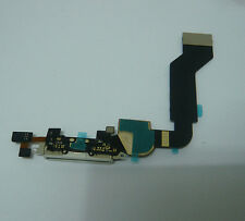 White Charger Charging Dock Port Connector Flex Ribbon Cable For iPhone 4S
