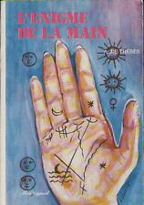 Livre : L'Enigme de la Main - A. De Thèbes CHIROMANCIE Résumé & Sommaire Dedans