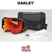 OAKLEY® AIRBRAKE™ PRIZM™ GOGGLES MX ATV MOTOCROSS MOTORCYCLE BLACKOUT W/ TORCH