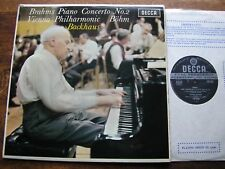 SXL 6322 BRAHMS: PIANO CONCERTO No. 2   BACKHAUS / BOHM / VPO   WBg    NM