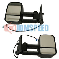 Power Heated Towing Mirrors Pair For 03-06 Chevy Silverado GMC Sierra Pickup