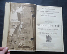 ANCIENT & HISTORICAL MONUMENTS & CONSTRUCTIONS IN WALES & MONMOUTHSHIRE 1912