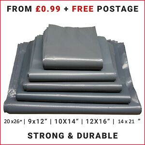Strong Mailing Postage Bags Post Mail Grey Postal Bags Parcel Bags Self Seal