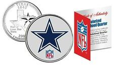Dallas Cowboys Nfl Licensed Texas Statehood Quarter! W/H Coa & Display Stand!