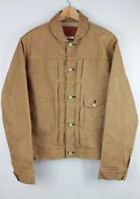 SOLD OUT Mister Freedom Lot 44 Ranch Blouse Brown Selvedge Buckle Back Jacket 36