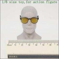 L17-42 1/6 scale Yellow black sunglasses glasses