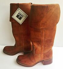 Frye OTK Campus Leather Saddle Boots for Women - Size 9.5 M US - NIB