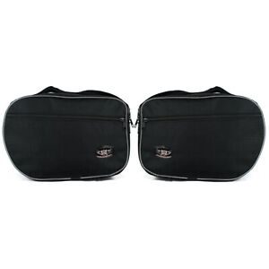 Pannier Liner Inner Luggage Bags to fit Motorcycle BMW S1000XR Cases Pair