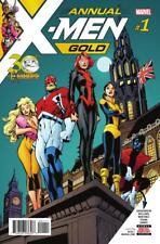 X-Men Gold Annual #1, NM 9.4, 1st Print, 2018 Flat Rate Shipping-Use Cart