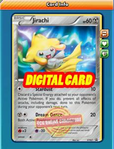 Jirachi PROMO XY67 for Pokemon TCG Online (PTCGO, Digital Card)