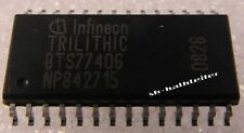3 x Infineon bts7740g quad D-mos switch Driver (SMD so28) - 3 unid.