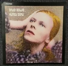 David Bowie Hunky Dory 2016 Cardboard Promo Poster Flat