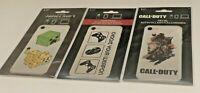 Minecraft Call of Duty Choose Your Weapon Sticker Decal Phone Laptop Lot of 3
