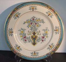 Lenox Blue Tree Dinner Plate, Gold Trim & Backstamp--Excellent!
