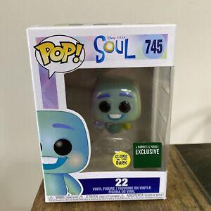 NIB - Funky Pop! Disney Pixar - SOUL #745 Vinyl Figure #22 - glow in the dark.