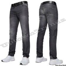 Jeans da uomo grigie, taglia 48 regolare