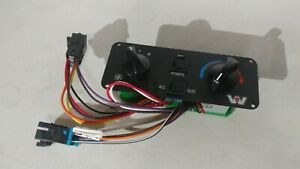Western Star Heater and A/C Switch Control RD-6-4966-0  (unknown factory number)
