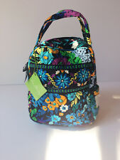 New With Tag Vera Bradley Lunch Bunch Box Bag in Midnight Blues