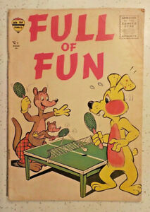 Full of Fun #1 ! 1957 ! VERY FUN COMIC ! NICE PAGES ! hayfamzone