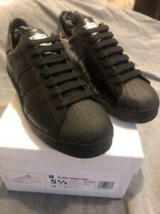 Adidas X PRADA Superstar Lifestyle Shoes Sneakers Black FW6679 SZ 5.5