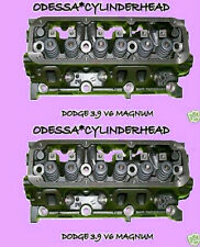 NEW 2 CHRYSLER DODGE Dakota Ram DURANGO 3.9 OHV MAGNUM V6 CYLINDER HEADS 92-03