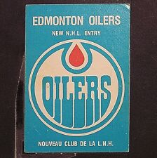 1979-80 O-Pee-Chee #82 Edmonton Oilers Logo CL GRETZKY -- 'Marked - View Photos'