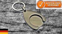 ★ Schlüsselanhänger mit Einkaufswagen Chip Münze Token Coin Shopping Keychain ★