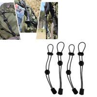 4pcs Backpack Securing Hiking Walking Stick Elastic Rope Holder Climbing