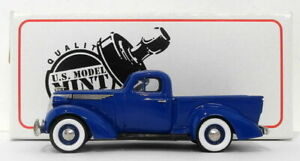 US Model Mint 1/43 Scale US14 - 1937 Studebaker Coupe Pick-Up - Beverly Blue